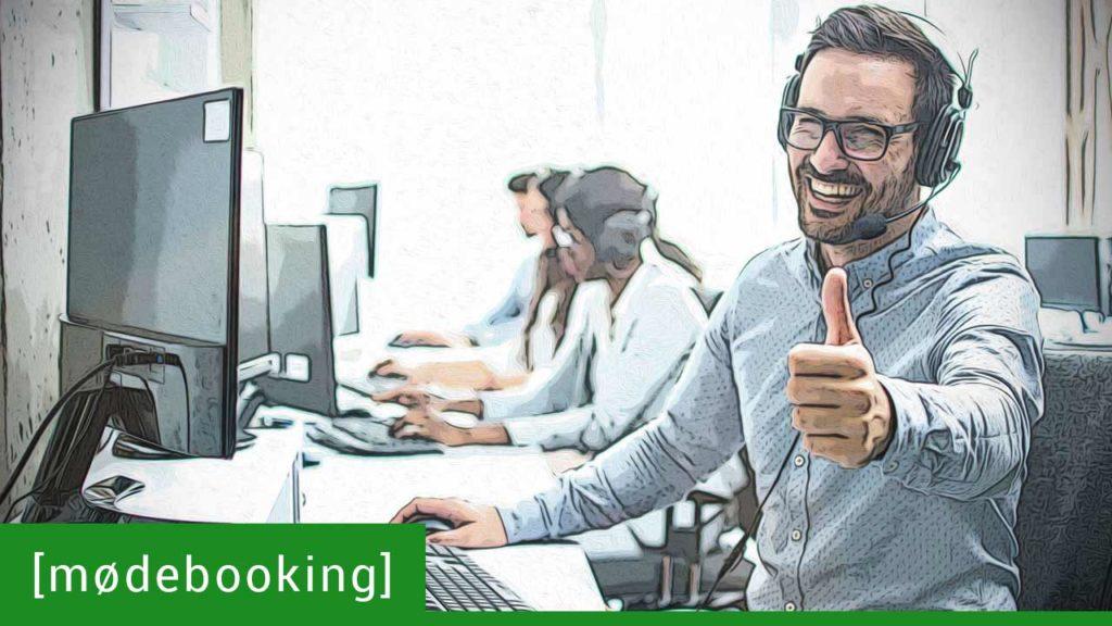 Skab et sammenspil mellem intern og ekstern mødebooking 🎧