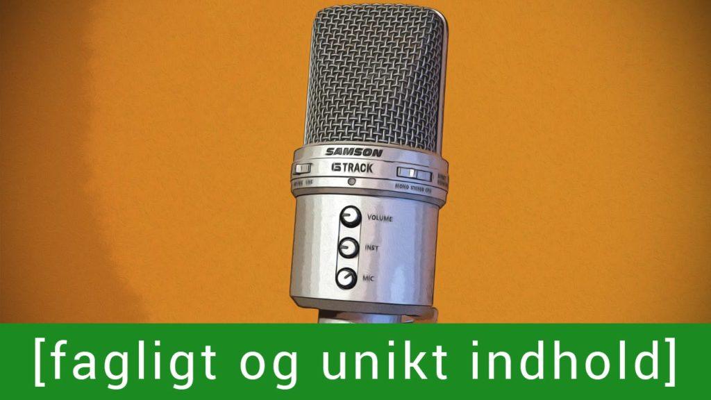 Skab unikt fagligt indhold med At Turde FM. Kontakt mig for pris.